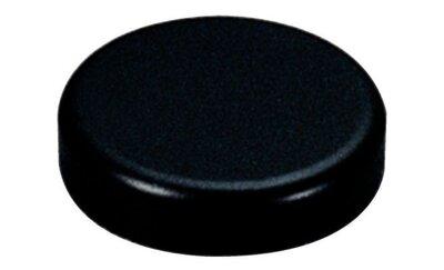 Afdekkap voor Salice glasdeurscharnier, zwart