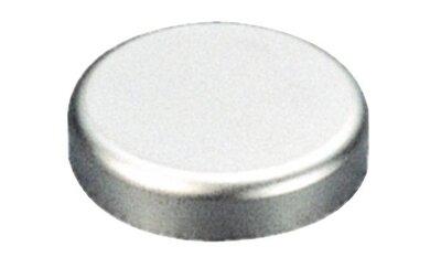 Afdekkap voor Salice glasdeurscharnier, zilver mat