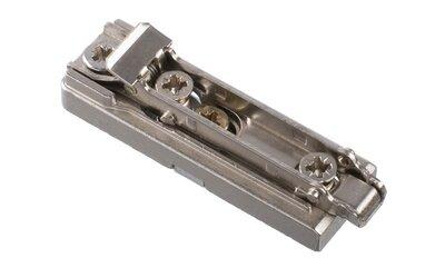 Salice montageplaatje, recht model 0 mm