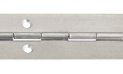 Pianoscharnier aluminium bl. 32x1,0mmx3,5m