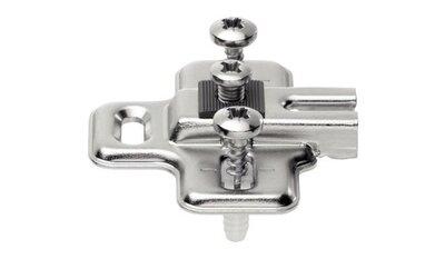 Blum kruismontageplaat voor koelkastscharnier